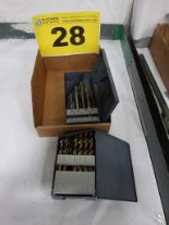 Lot 28 - LOT OF DRILLS AND TAPS