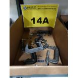 Lot 14A - LOT OF C CLAMPS - (18) 3""