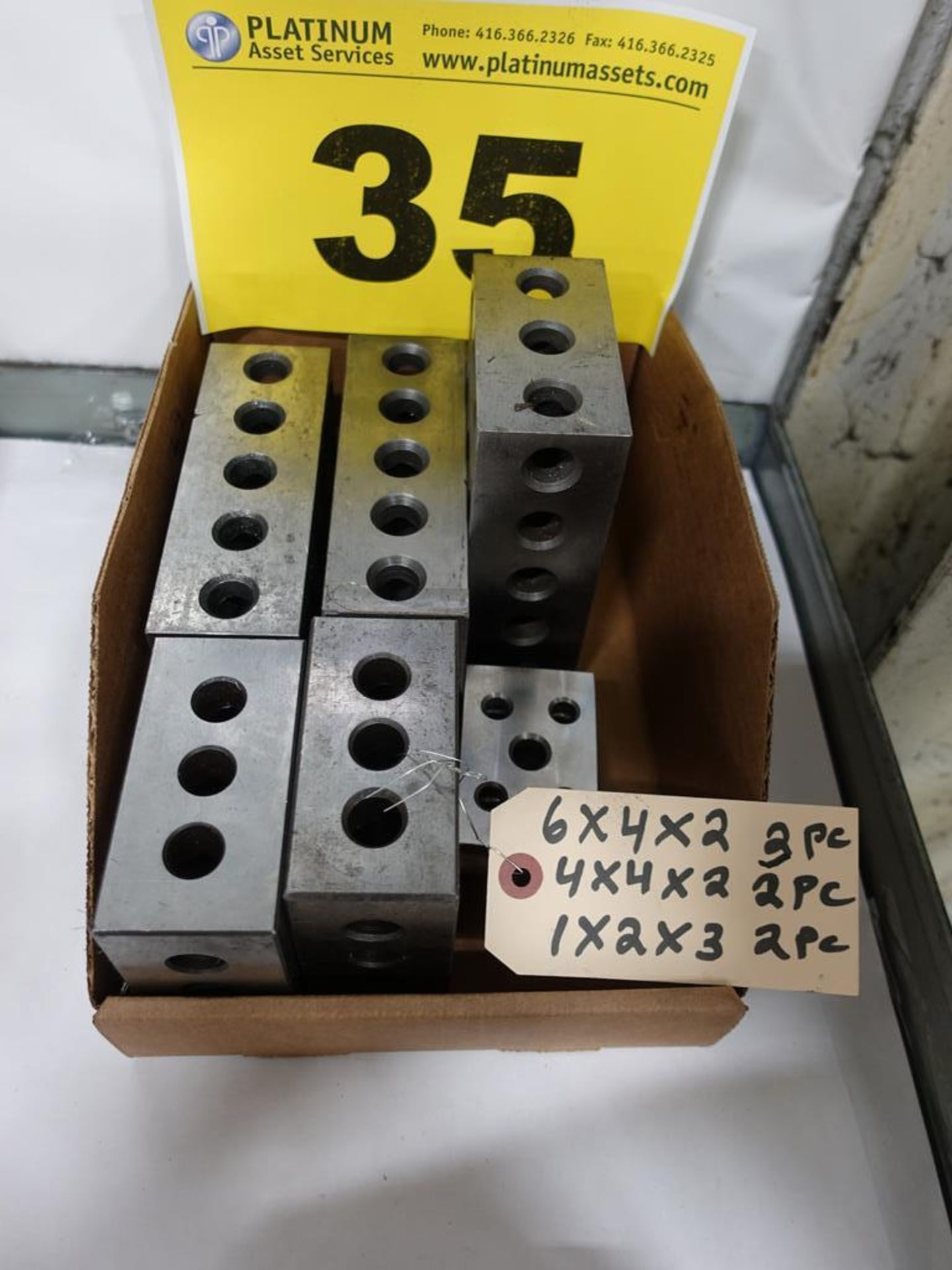 Lot 35 - LOT OF SPACER BLOCKS