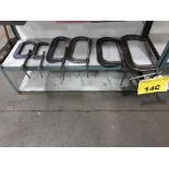 "Lot 14C - LOT OF C CLAMPS - (2) 7"", (2) 12"", (1) 13"", (1) 15"""