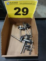 Lot 29 - LOT OF DRILL CHUCK KEYS