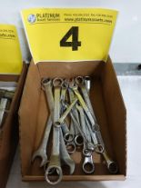 Lot 4 - LOT OF ASSORTED WRENCHES