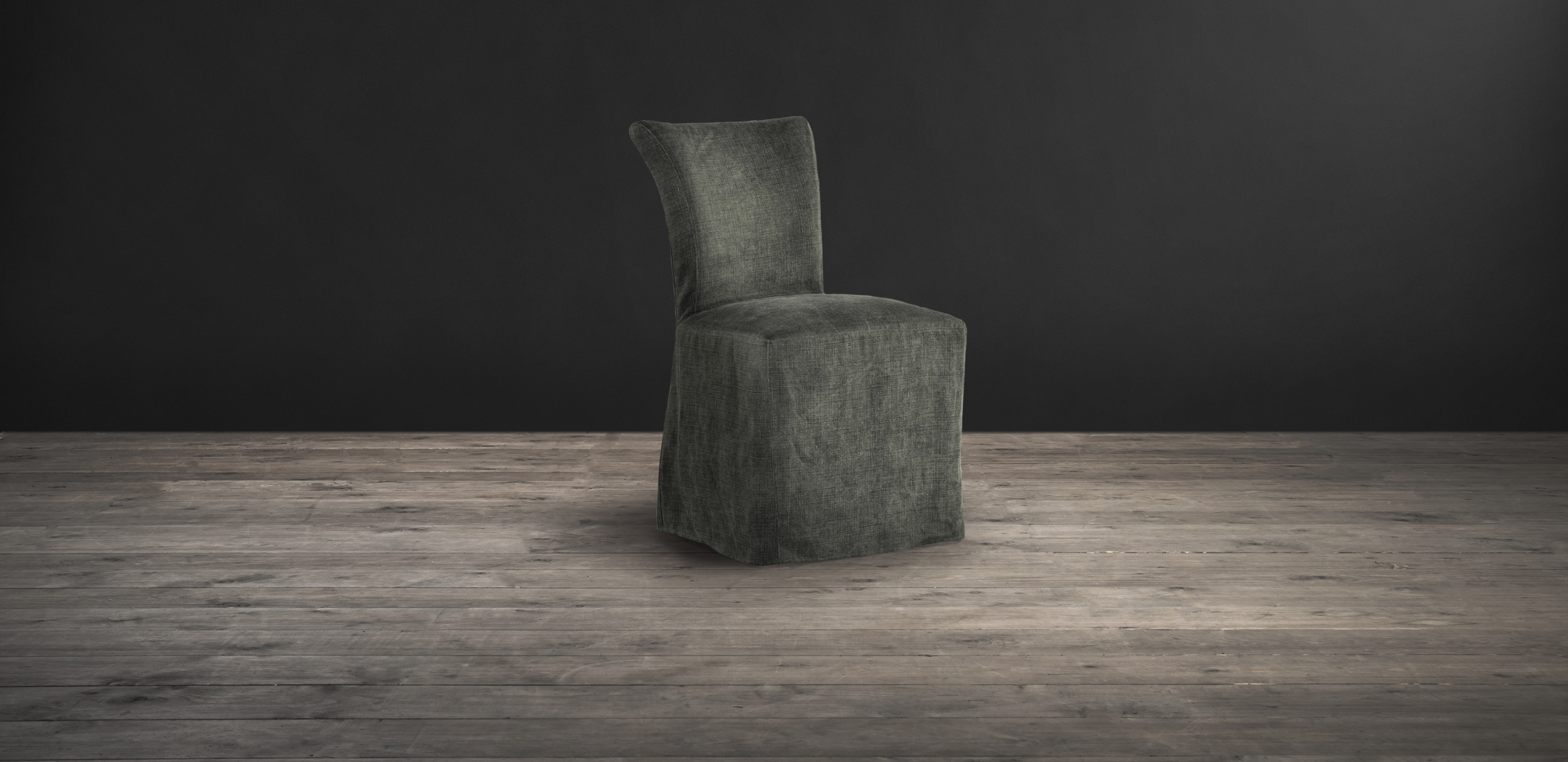 Lot 10 - Mimi Chair Scuff Linen Bone With Loose Cover We've Given Our Best-Selling Mimi Dining Chair A