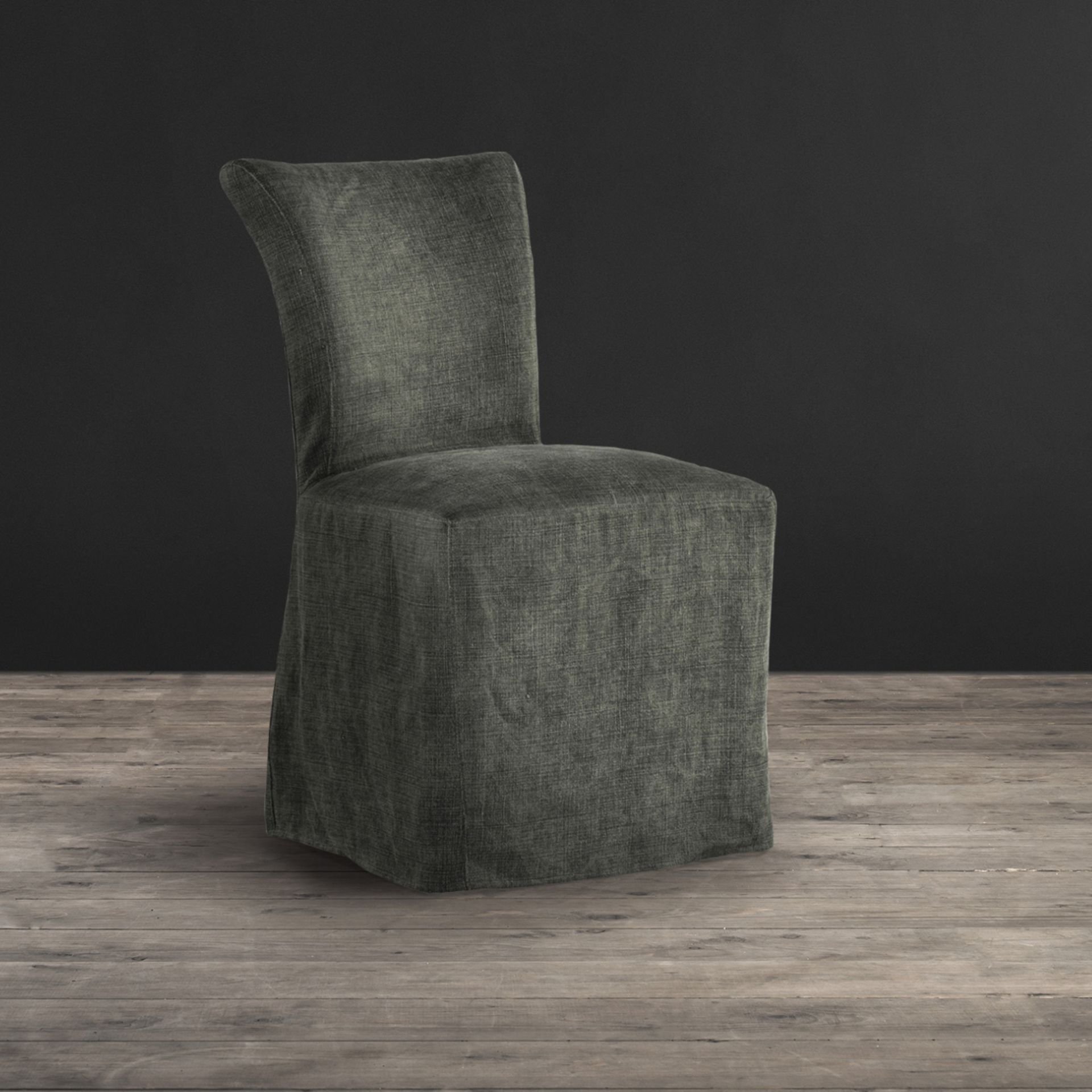 Lot 6 - Mimi Chair Scuff Linen Bone With Loose Cover We've Given Our Best-Selling Mimi Dining Chair A