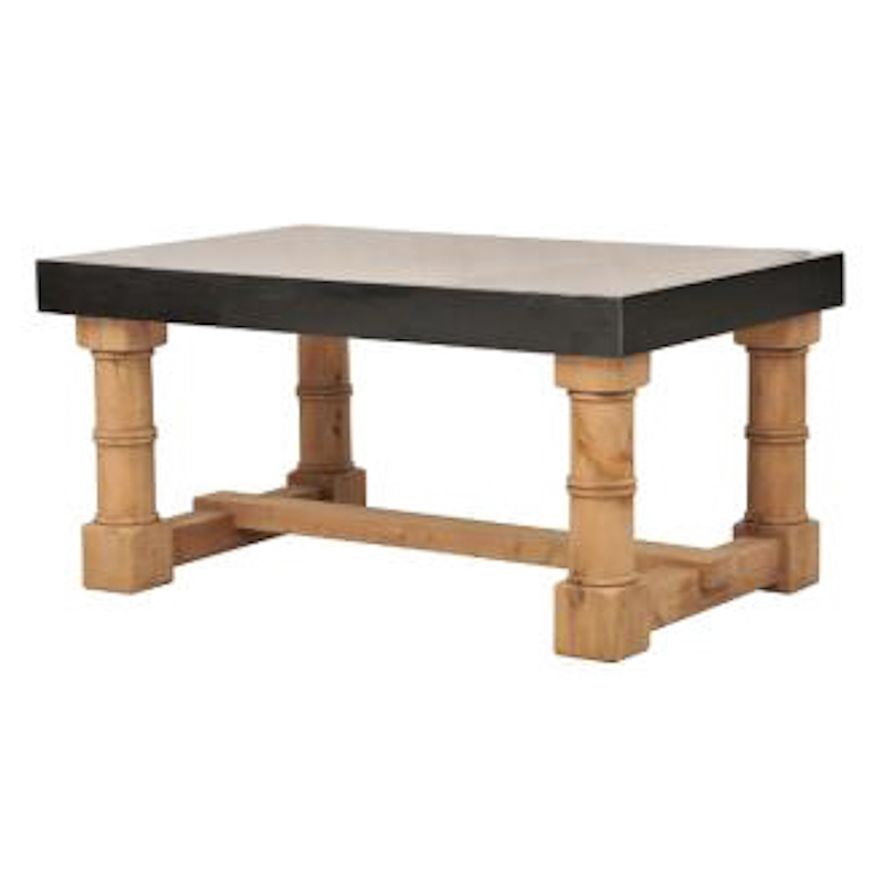 Lot 174 - Kitchen Gun Barrel Dining Table The Gun Barrel Marble Dining Table Is Handcrafted From Genuine
