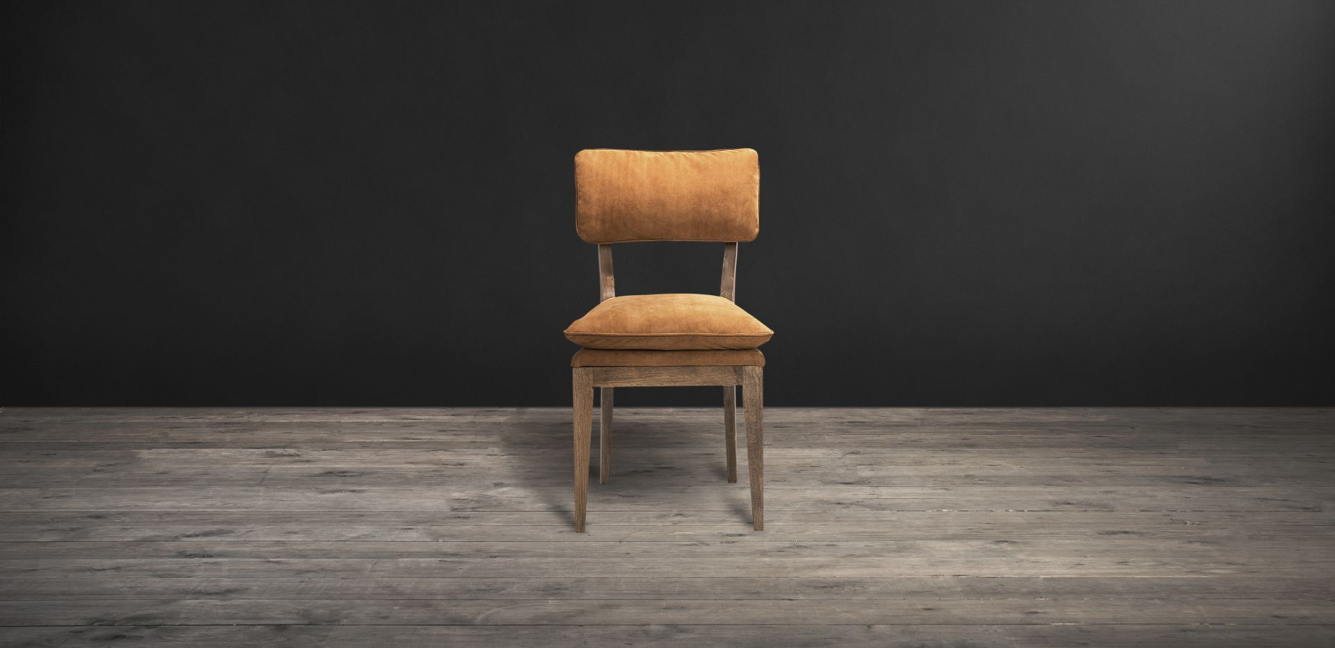 Lot 11 - Feather Dining Chair Aussie Tobac Leather The Feather Dining Chair Features A Simple, Rustic