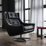 Lot 94 - Detroit Armchair Ride Nut Leather The Detroit Chair Takes Its Cue From Glamorous Swivel Chairs Of