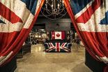 Lot 61 - Curtains Vintage Union Jack A Playful Celebration Of The History Of A Natural Ion And Its Pioneering