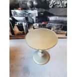 Lot 31 - Circular Silver Leaf Table Skilled Craftsmen And Artisans Have Handcrafted The Dynamic Evolution For