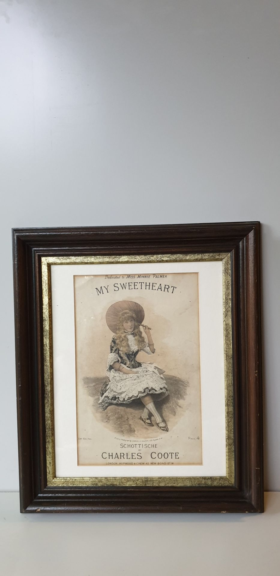 Lot 274 - Framed Drawing Charles Coote