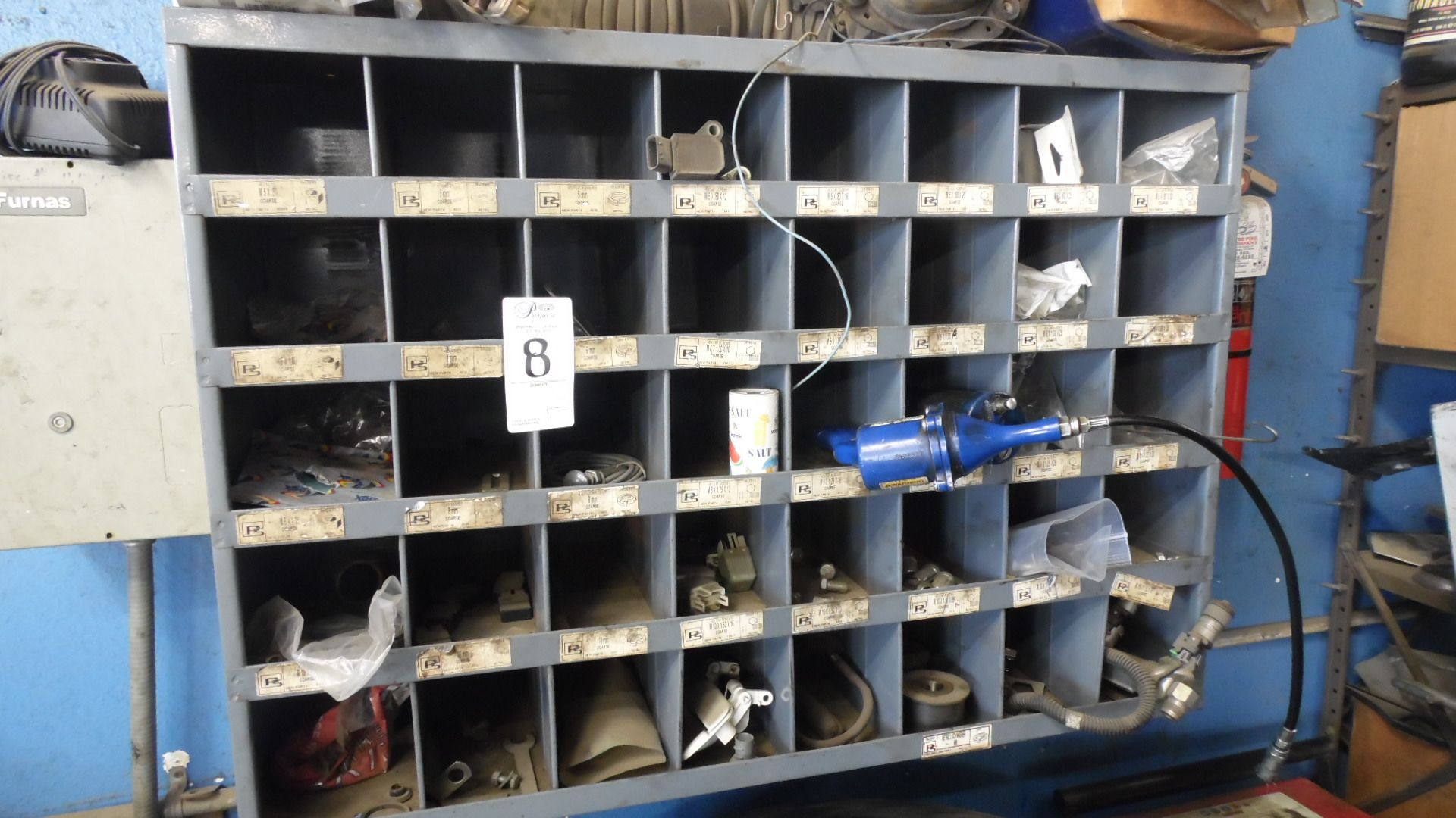 NUT & BOLT CABINET w/ CONTENTS