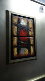Lot 32 - ABSTRACT PICTURE