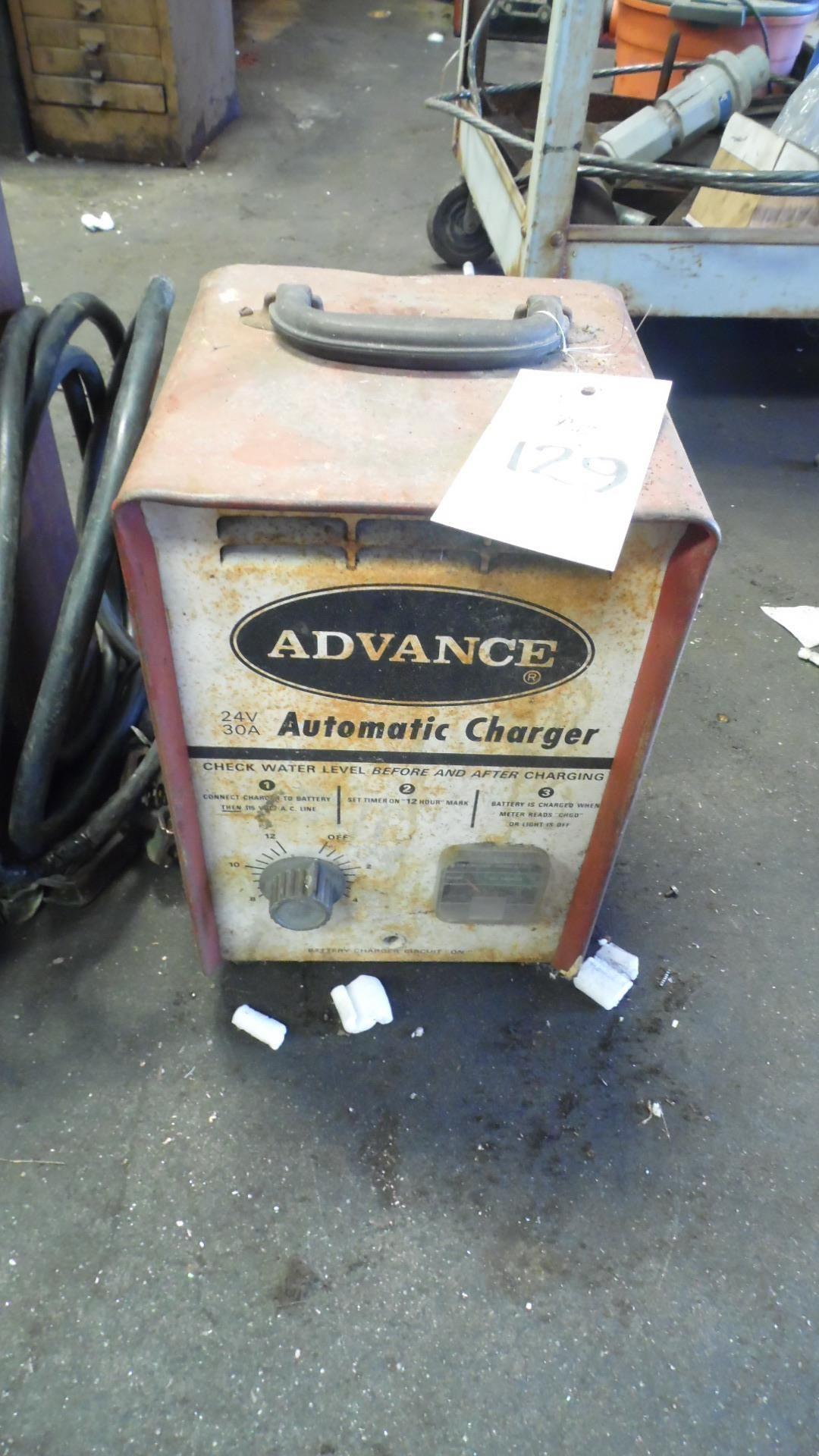 Lot 129 - ADVANCE CHARGER