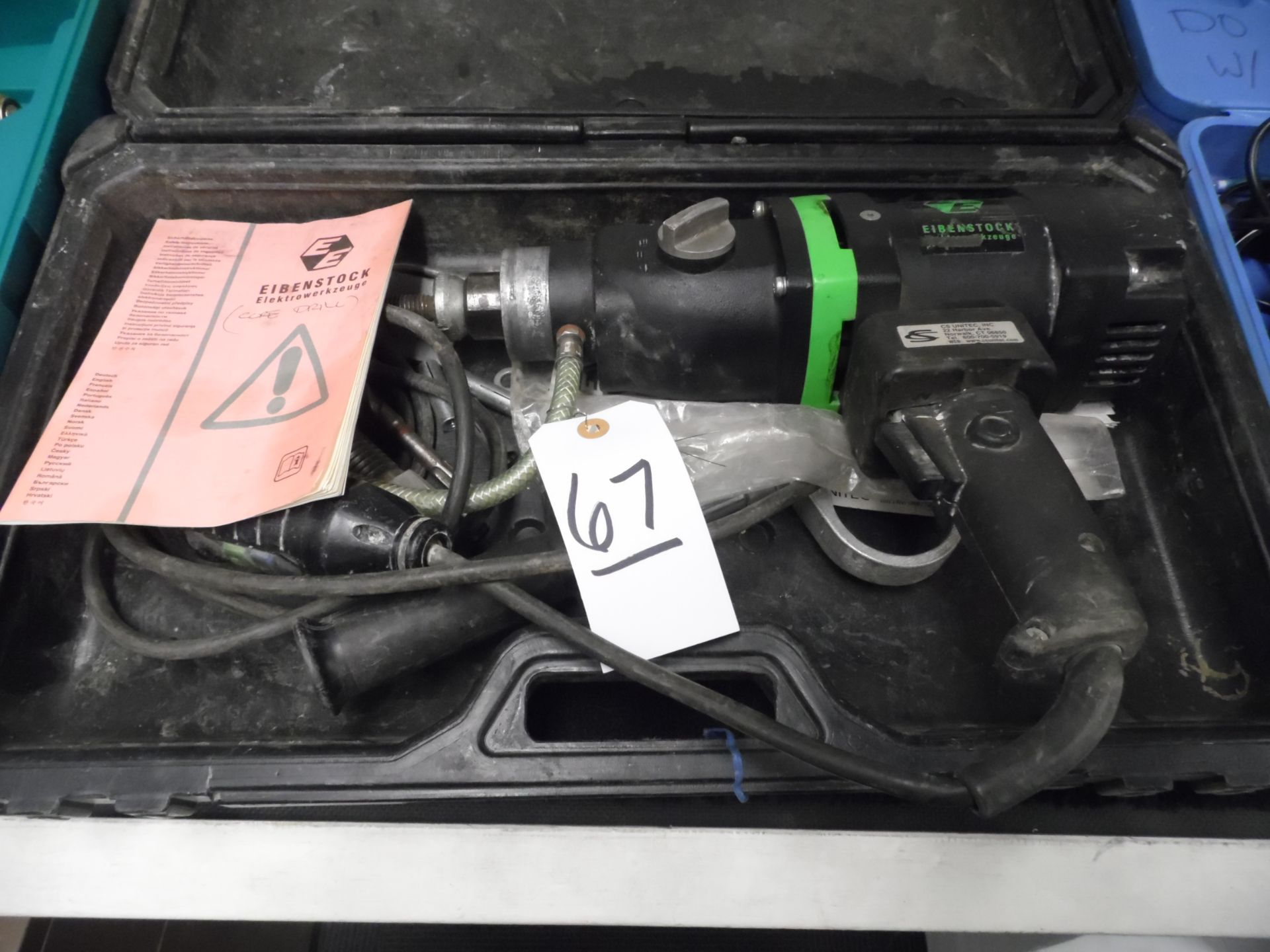 Lot 67 - EIBENSTOCK CORE DRILL