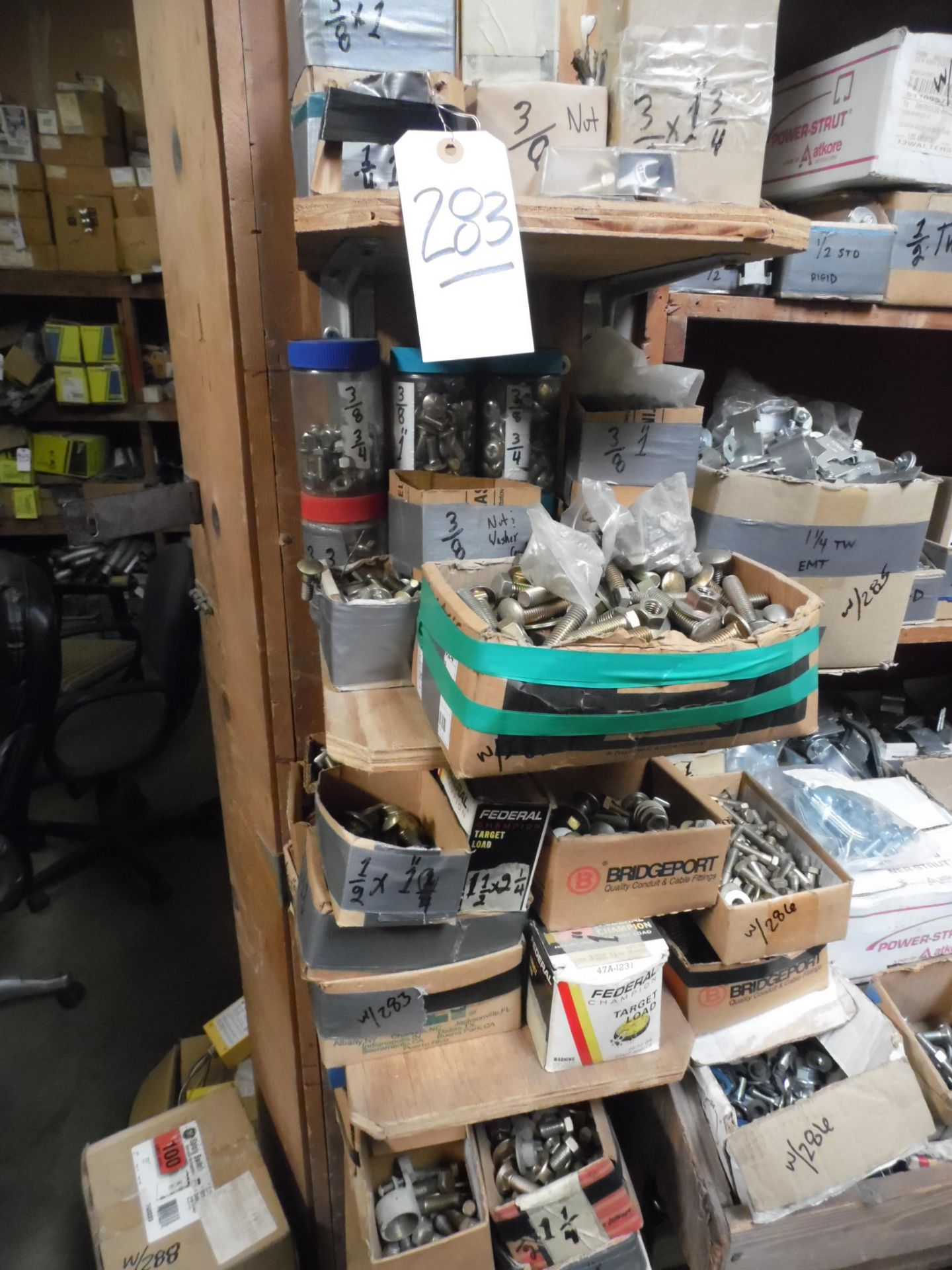 Lot 283 - ASSORTED HARDWARE