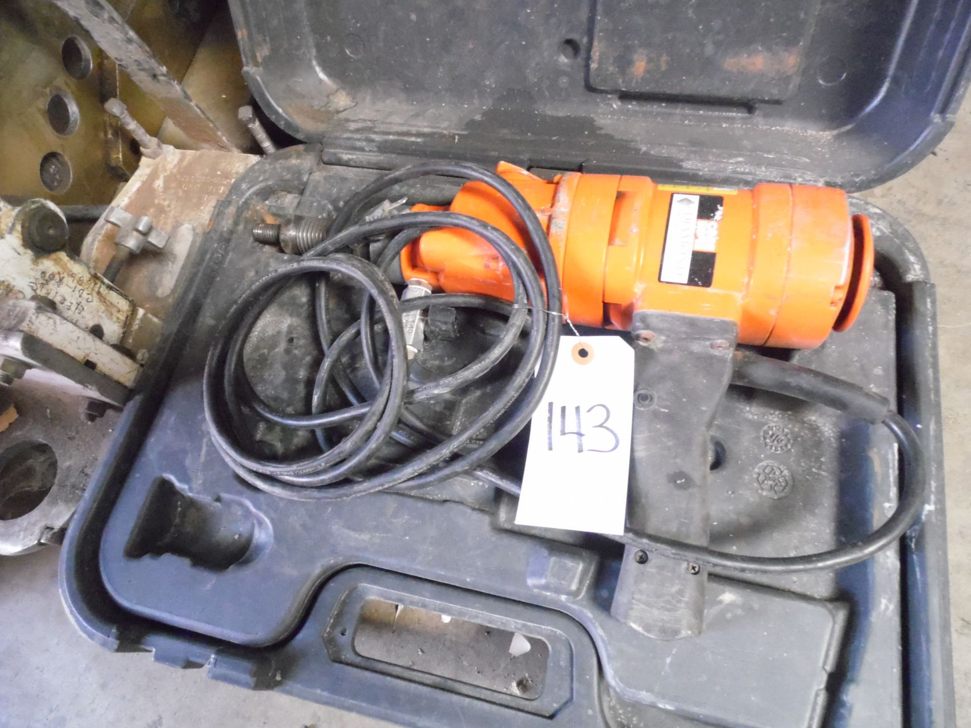Lot 143 - MAGNETIC CORE DRILL w/ STAND