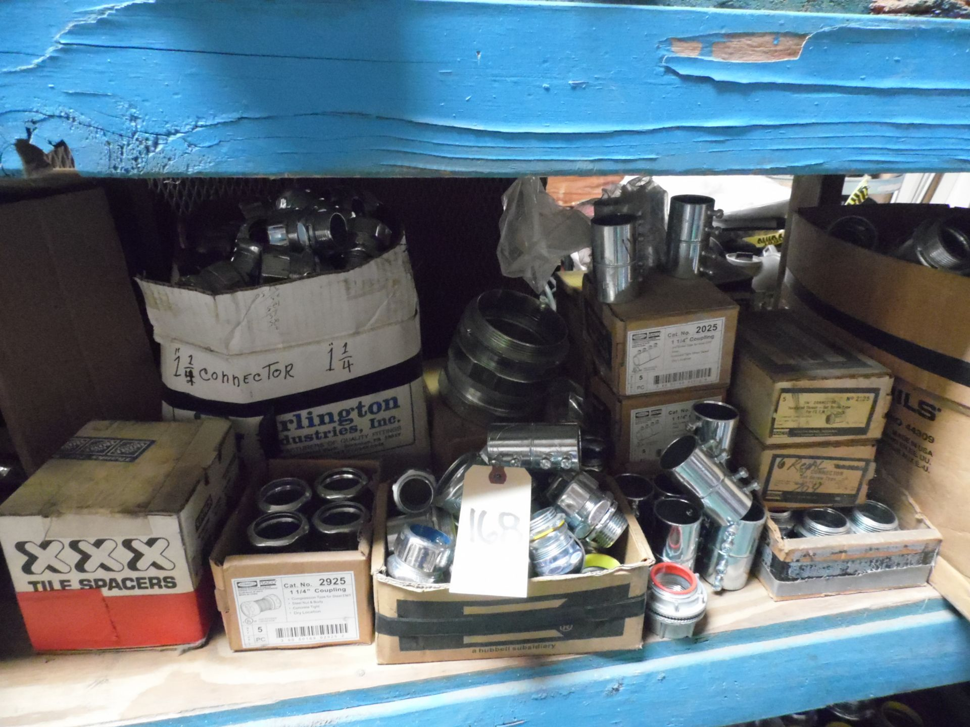 Lot 168 - ASSORTED CHAIN OIL, COUPLINGS & CONNECTORS