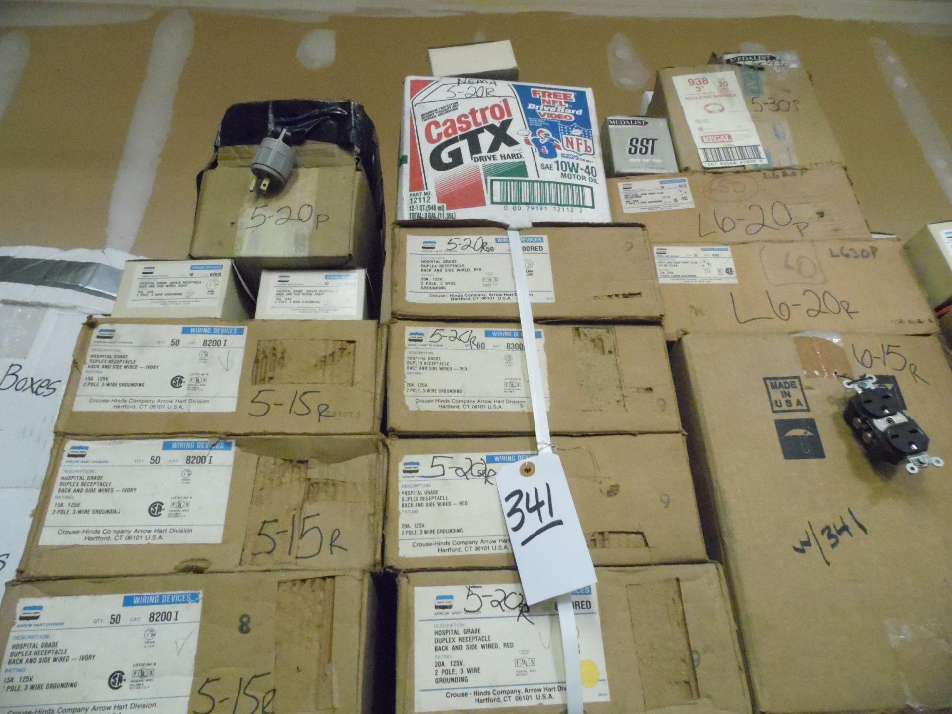 Lot 341 - TIGER BOXES & RECEPTACLES
