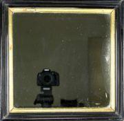 Alter Rahmenals Spiegel gearbeitet, um 1900. Zustand wie abgebildet, bitte selbst besichtigen.