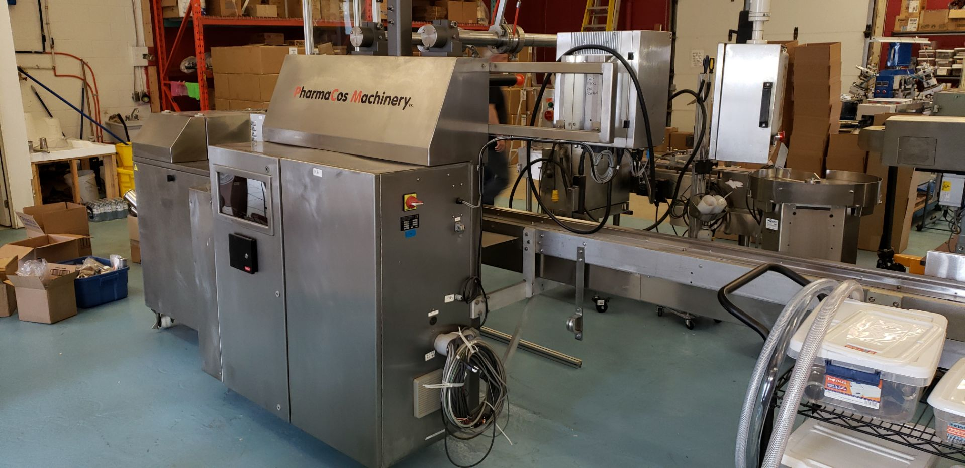 Lot 100 - ESS Technologies MB60XP Dental Pen Filling Line. Manufactured in 2011. **See Auctioneers Note**