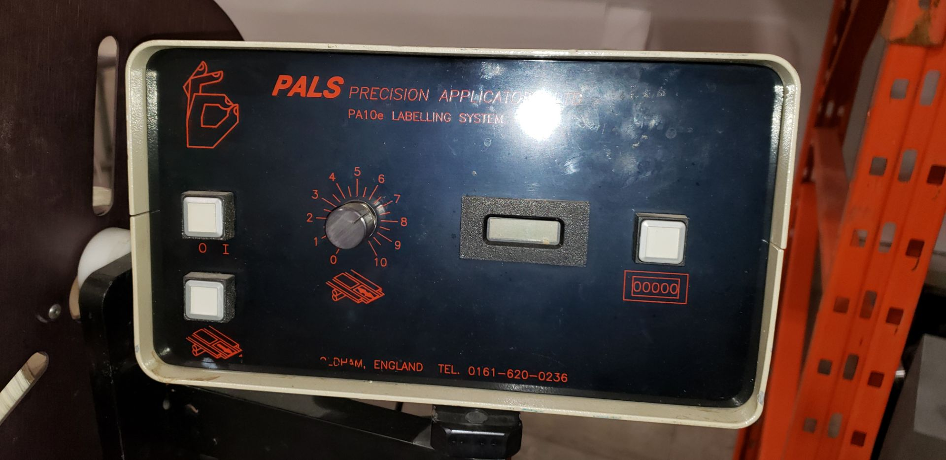 """Lot 7 - ARTEL Model PA1OE Tampon Labeler with a PALS Precision Control 6"""" Web"""
