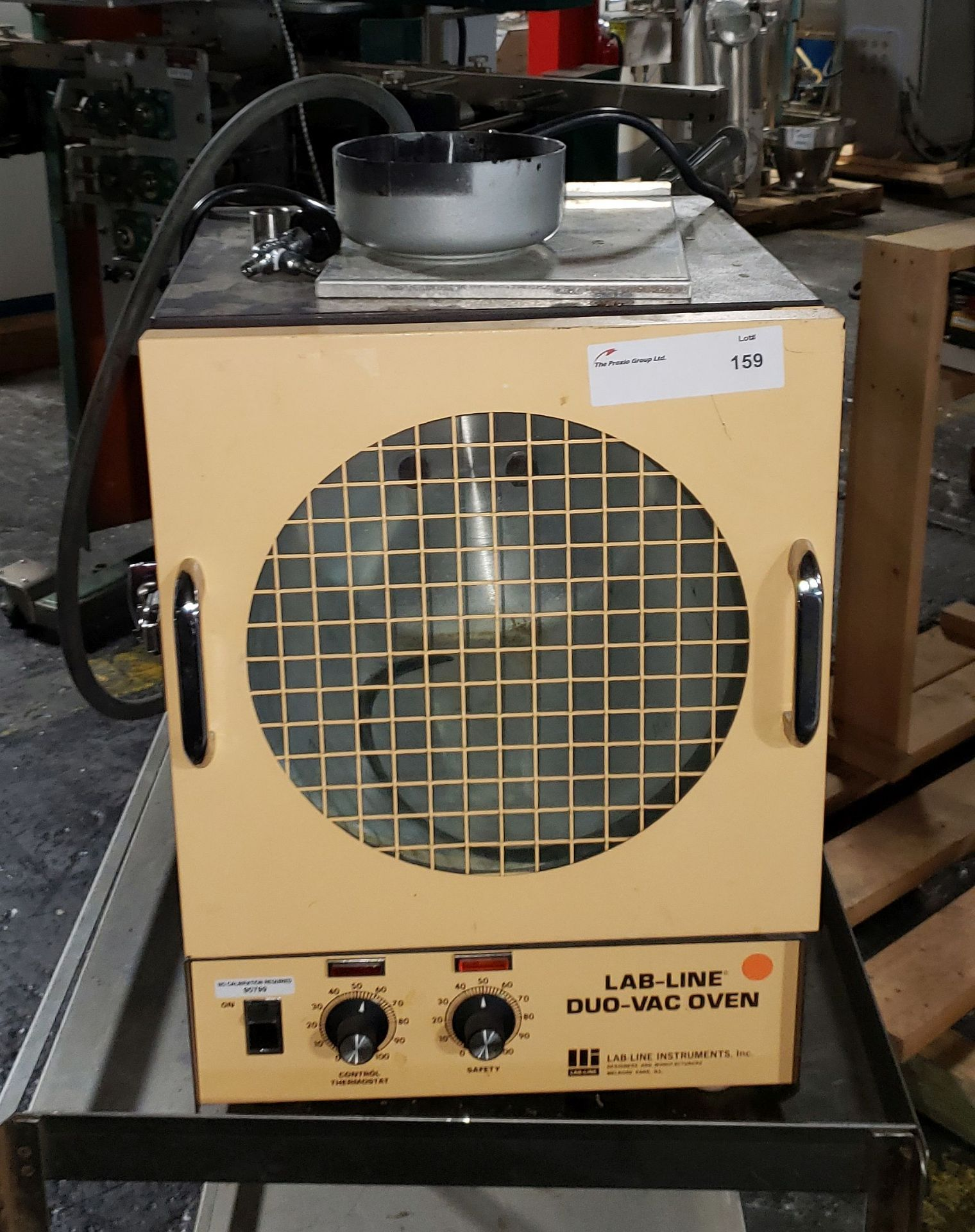 Lot 159 - Lab Line vacuum drying oven, model 3610