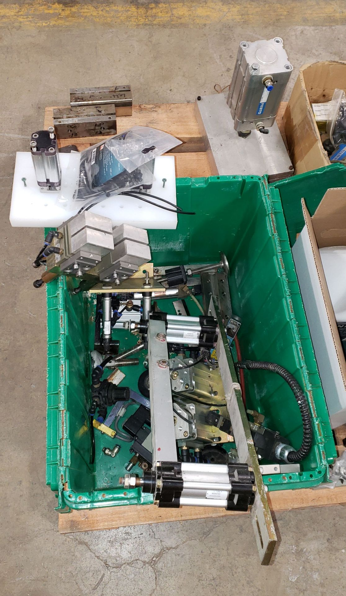 Lot 57 - Spare Parts for Pouch filling machine