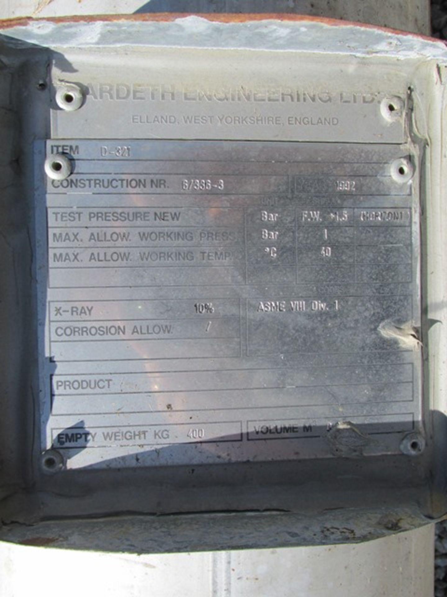 "Lot 10 - 12"" X 15' ARDETH ENGINEERING COLUMN, S/S, 14.5#"