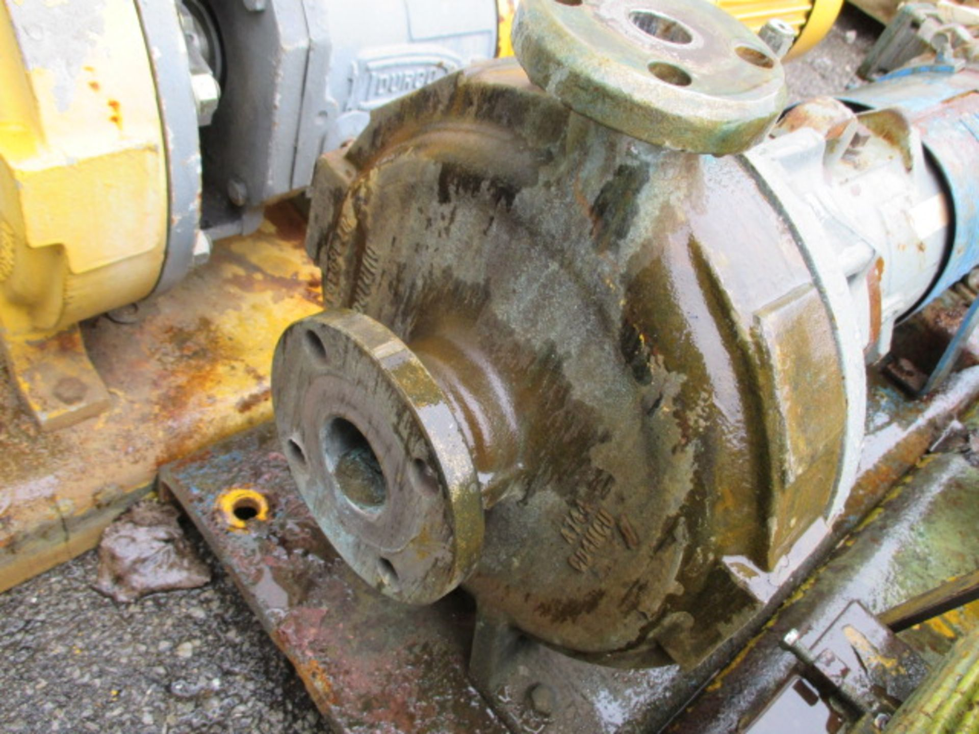 "Lot 11 - 2"" X 1"" DURCO PUMP, S/S, 10 HP"