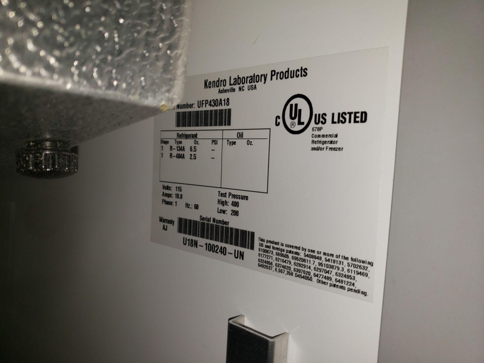 Lot 5 - Revco refrigerator, model UFP430A18, R134a refrigerant, 115 volt, serial# U18N-100240-UN.