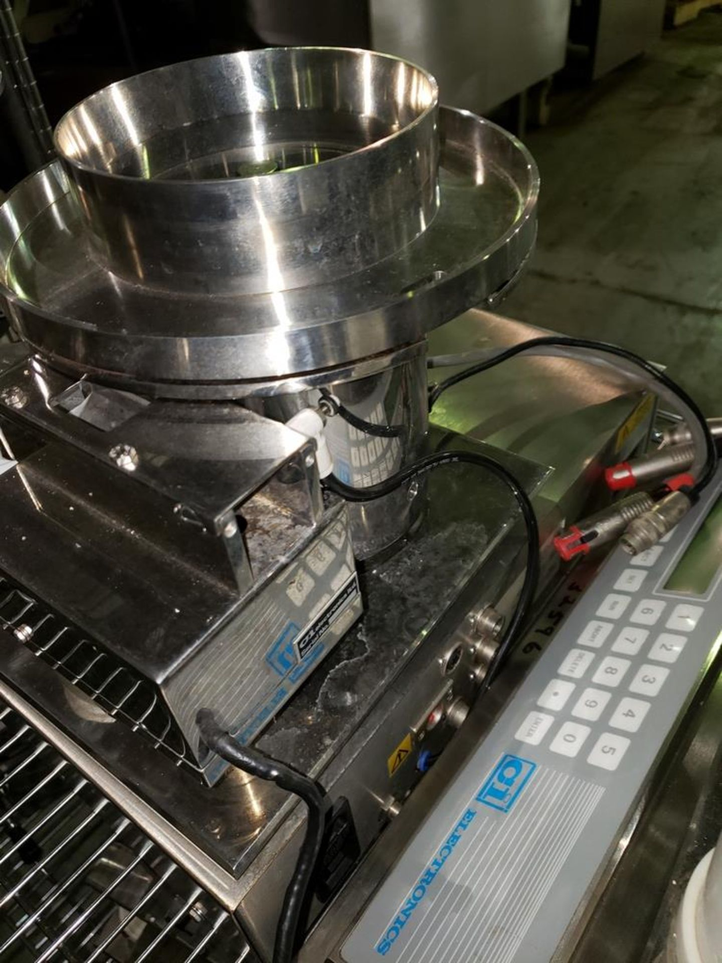Lot 41 - CI Electronics tablet/capsule checkweigher, model 265/6, serial# TP-647.