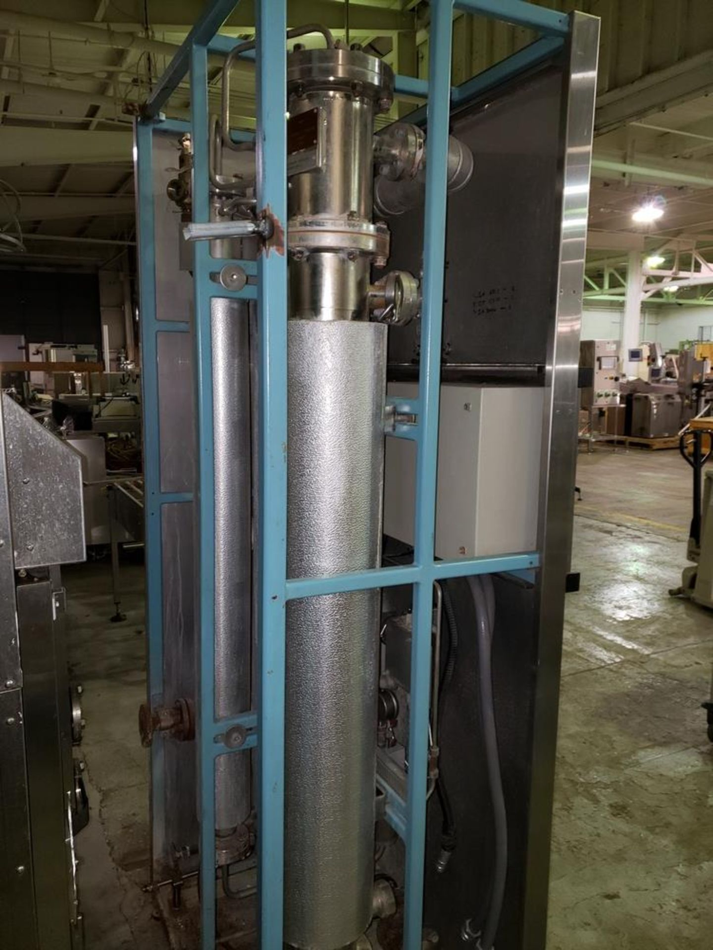Lot 32 - Finn Aqua single effect WFI still, model 200-H-1, single effect with heat exchanger, rated 116 psi