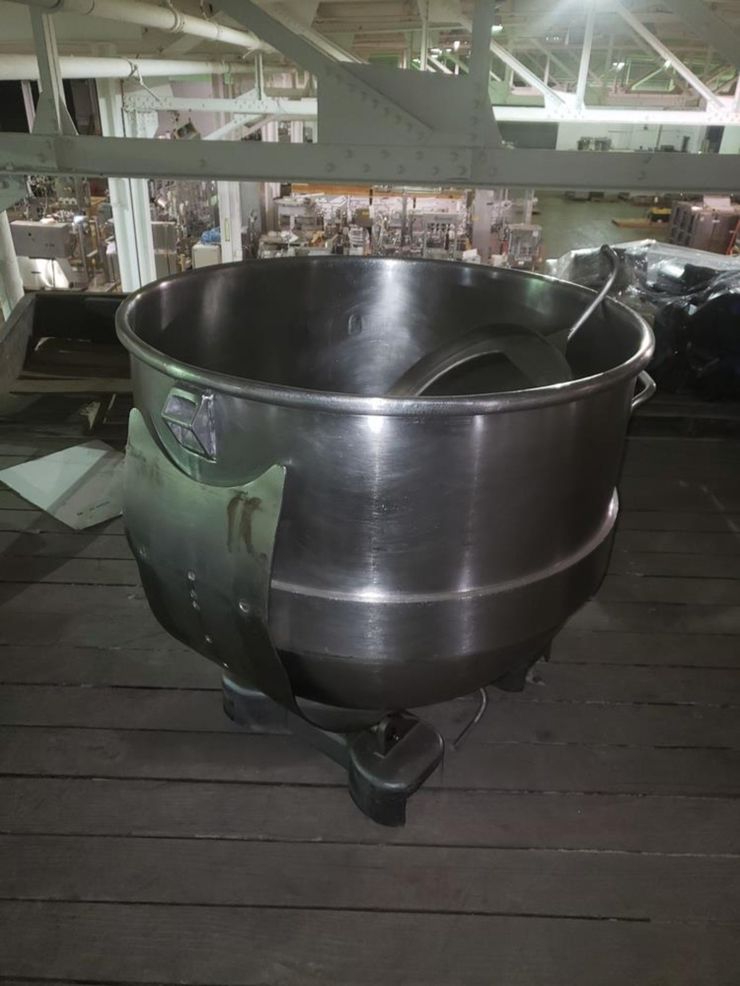 Lot 3 - S/S mixing bowl for AMF Mixer