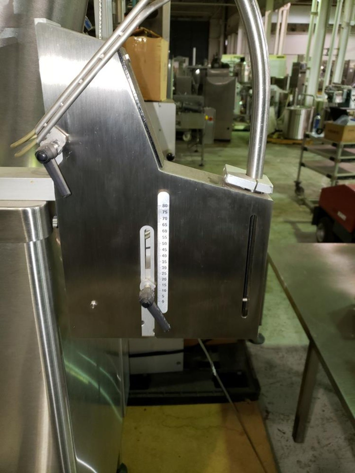 Lot 26 - DT Kalish desiccant feeder, model 8331,designed for barrel canisters, with rotary bowl feeder and