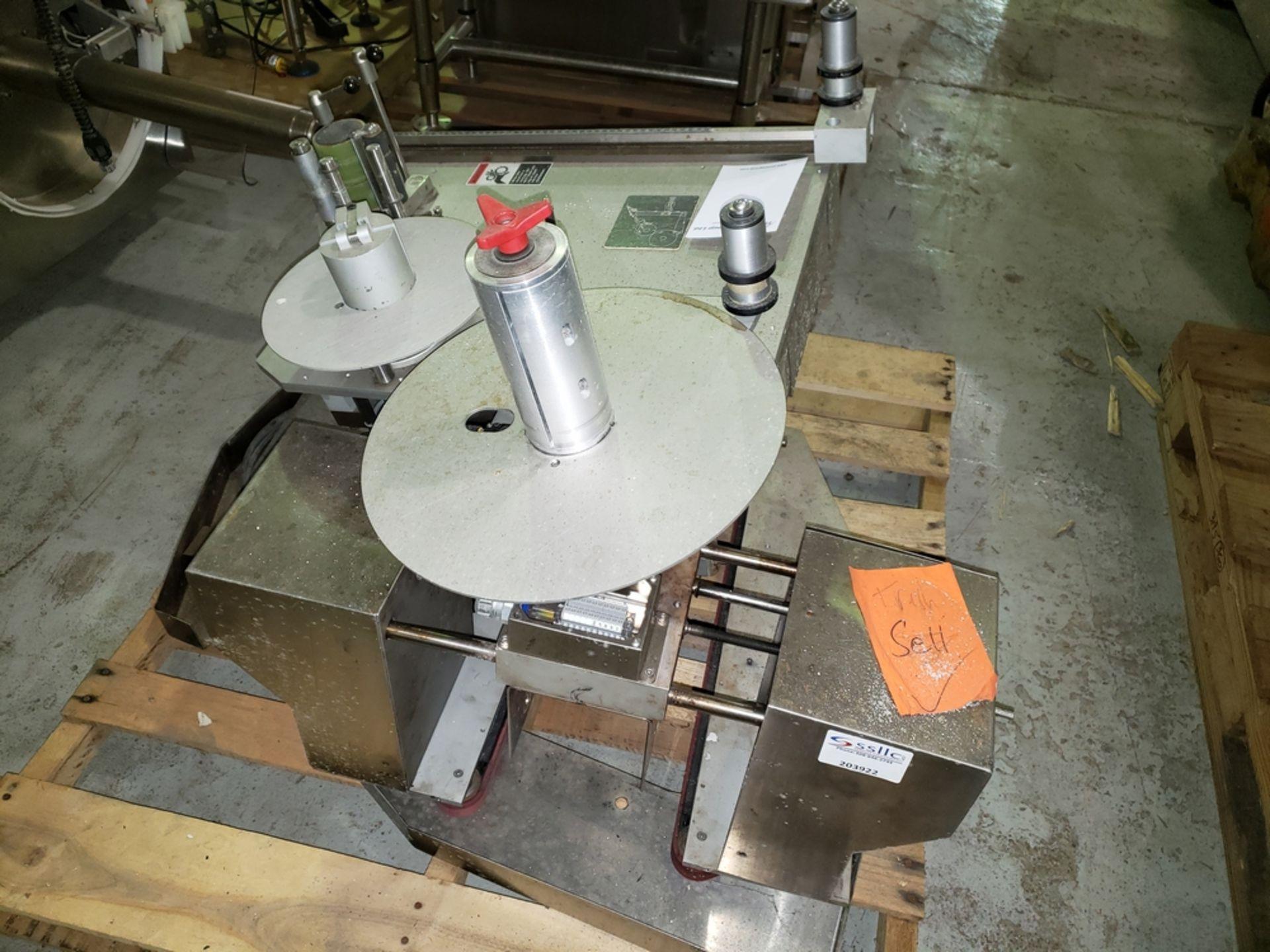 Lot 27 - NJM/CLE spare labeler head, model 318, serial # 318VR-340-M09I007, built 2009.