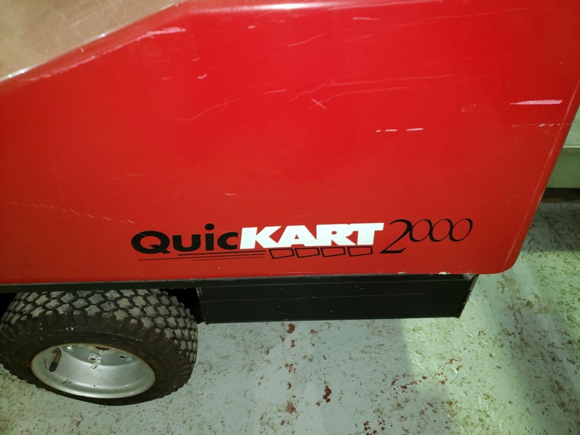 Lot 23 - Dane Quickart 2000 power-assist shopping cart collectors, battery operated.