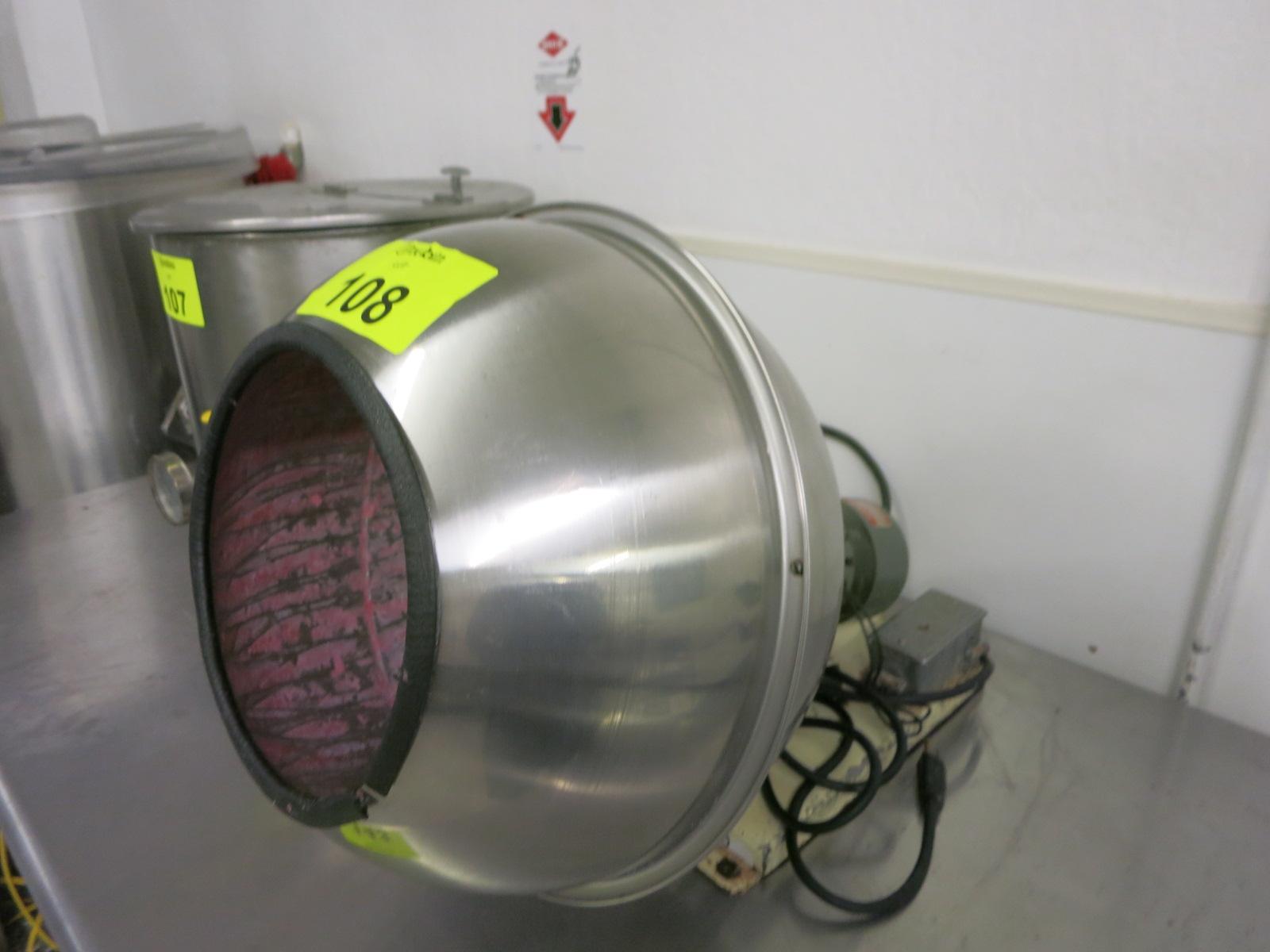Lot 108 - R & D Coating Pan