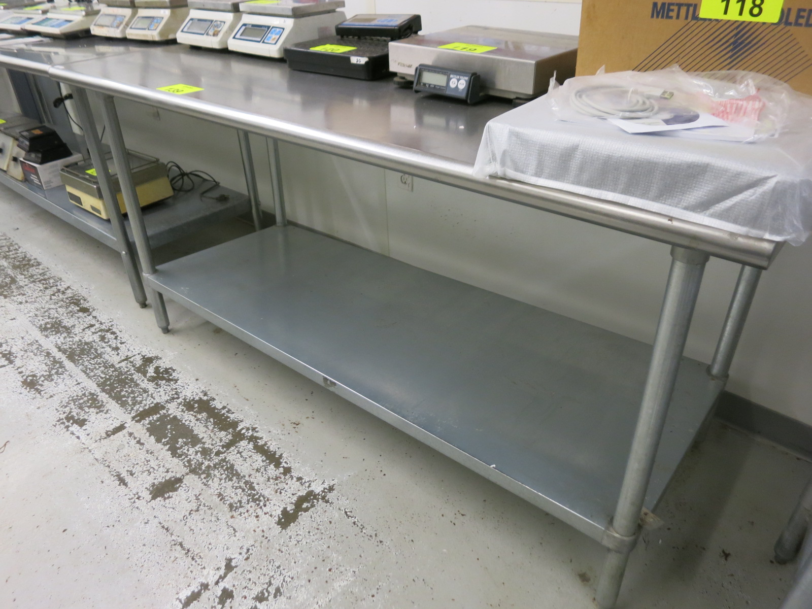 Lot 139 - Stainless Table