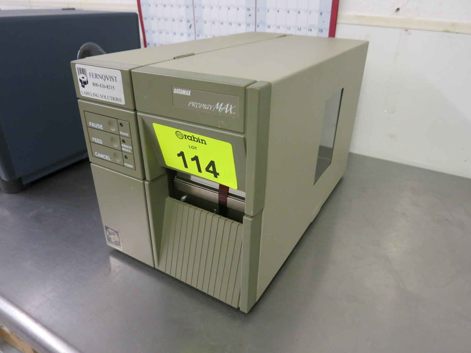Lot 114 - Label Printer