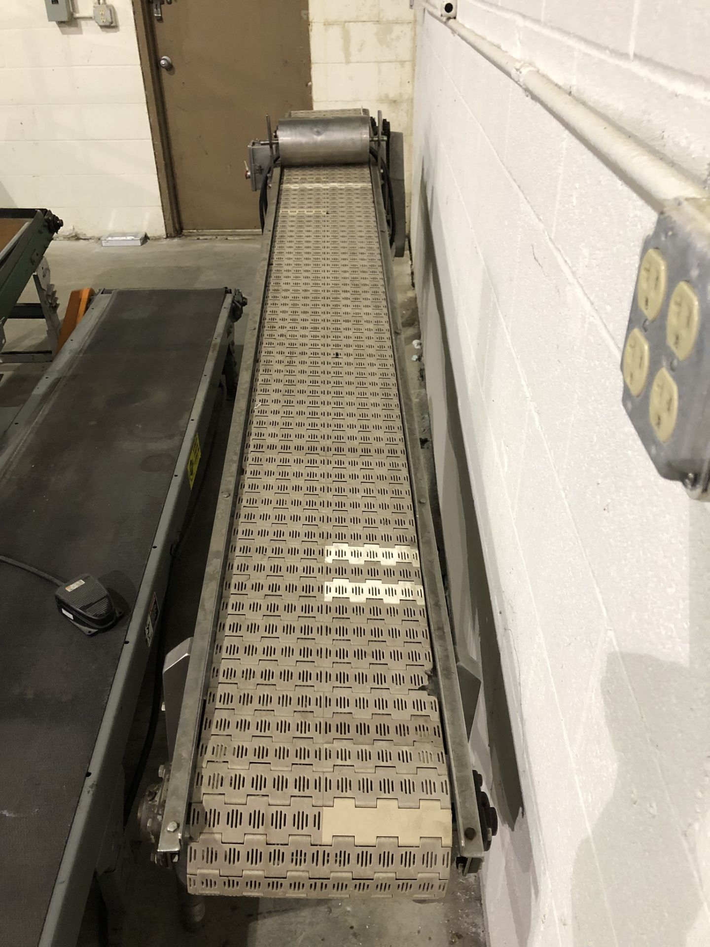 Lot 150 - Stainless Conveyor