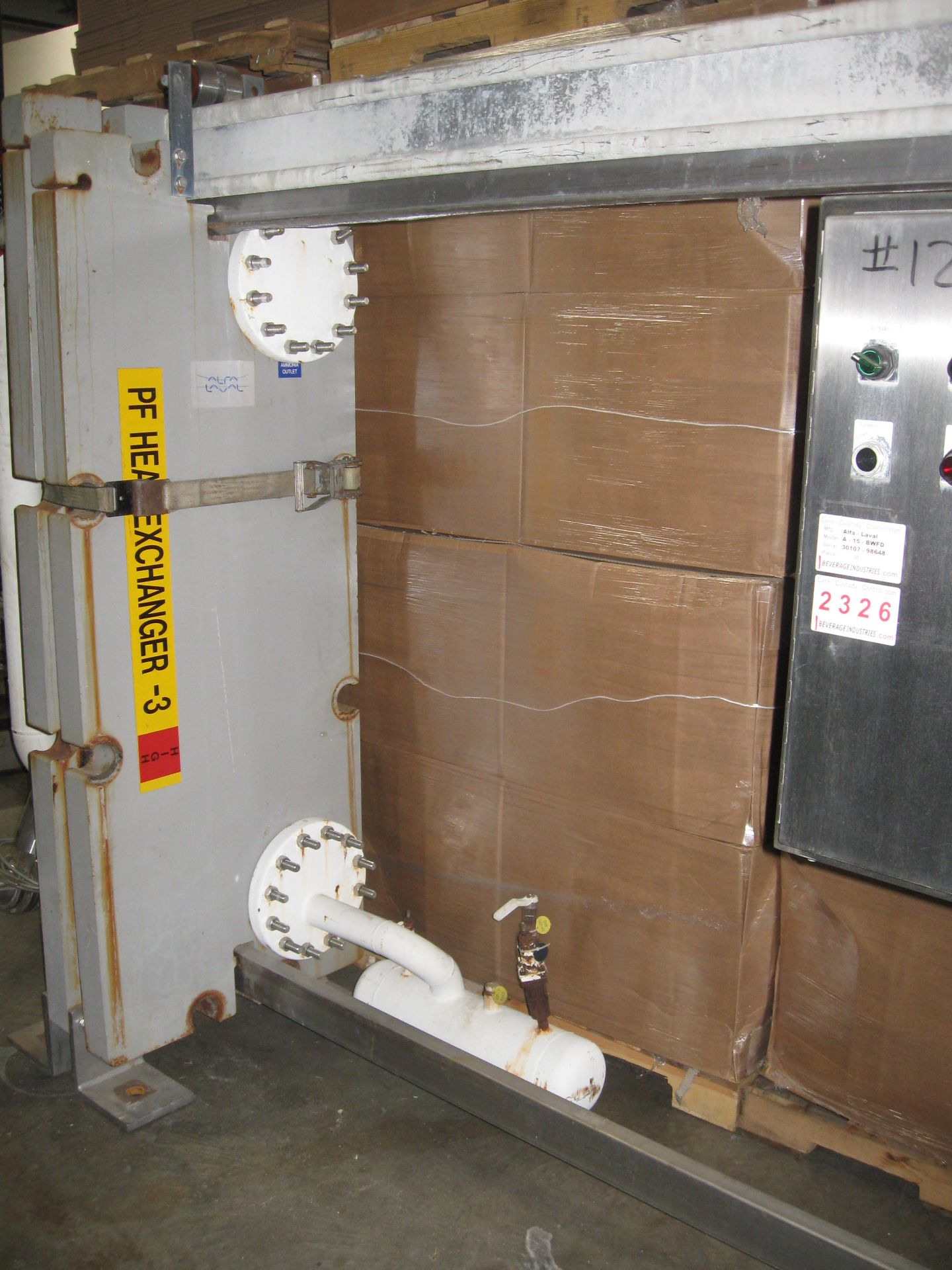 Lot 102 - Plate Heat Exchanger