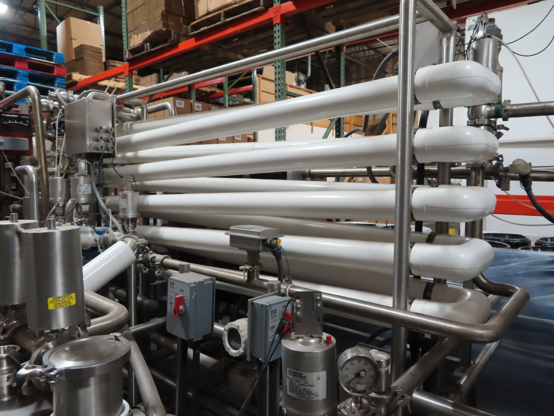 Lot 105 - HTST Pasteurization System