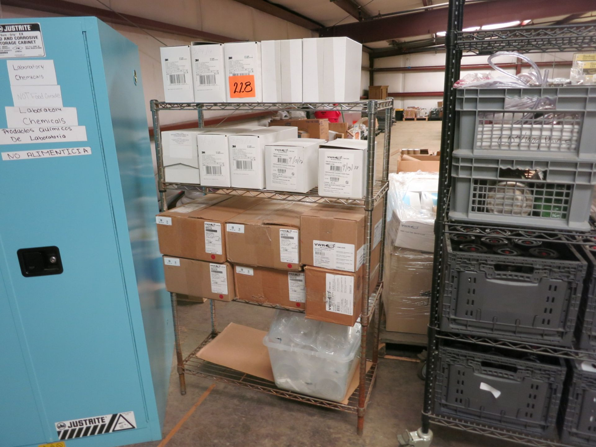 Lot 228 - Lab Supplies