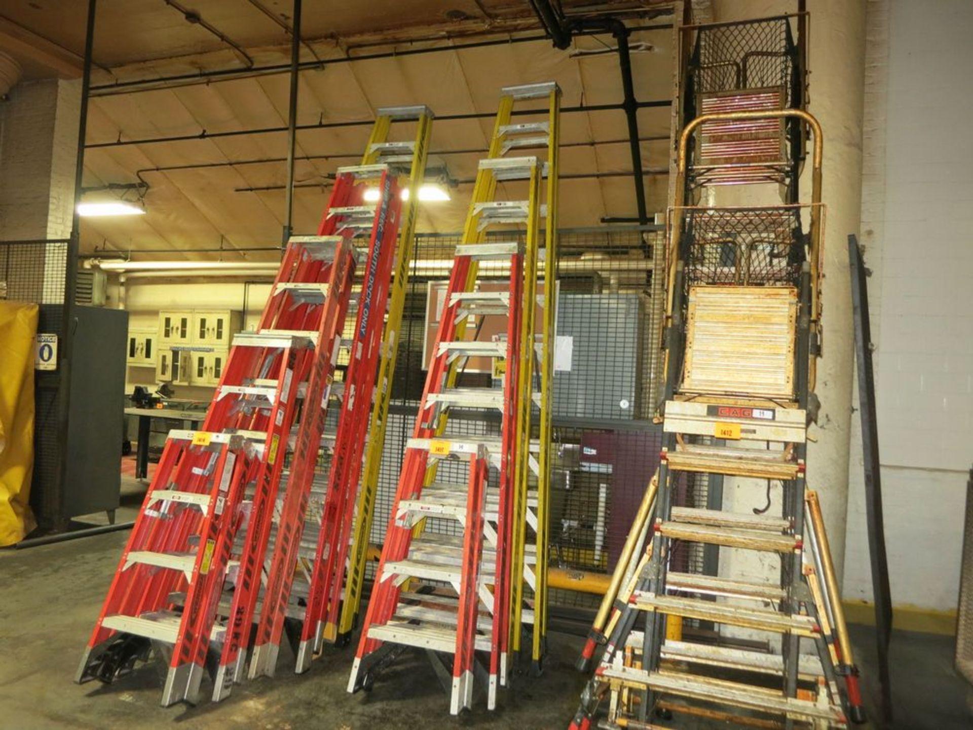 Lot 1413 - Ladders