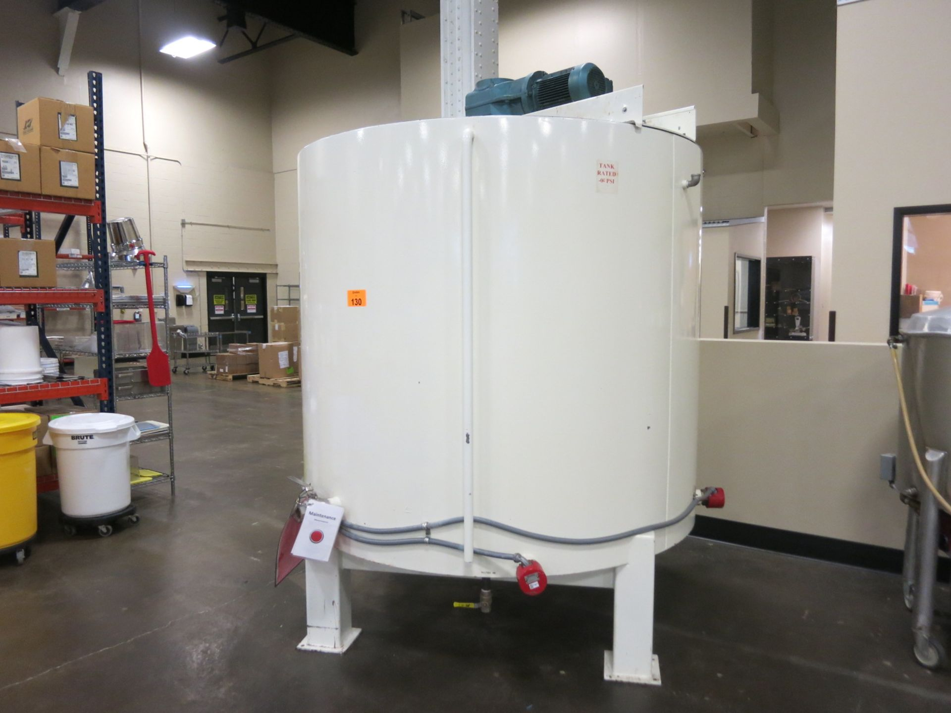 Lot 130 - Chocolate Tank
