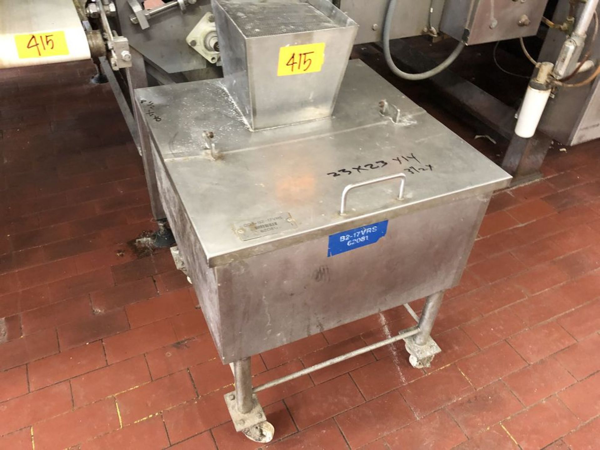 Lot 415 - Product Recovery Equipment