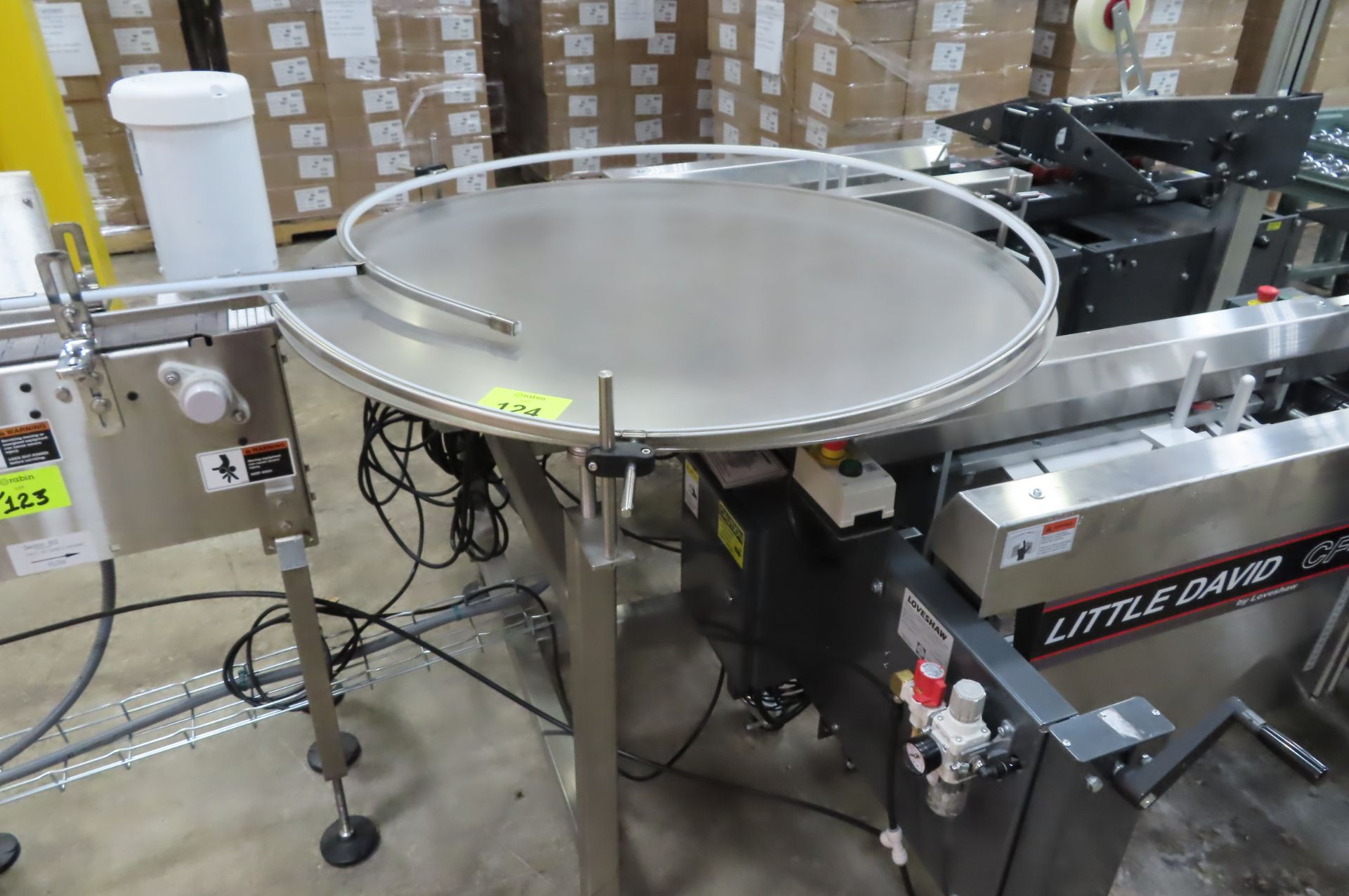 Rotary Accmulation Table
