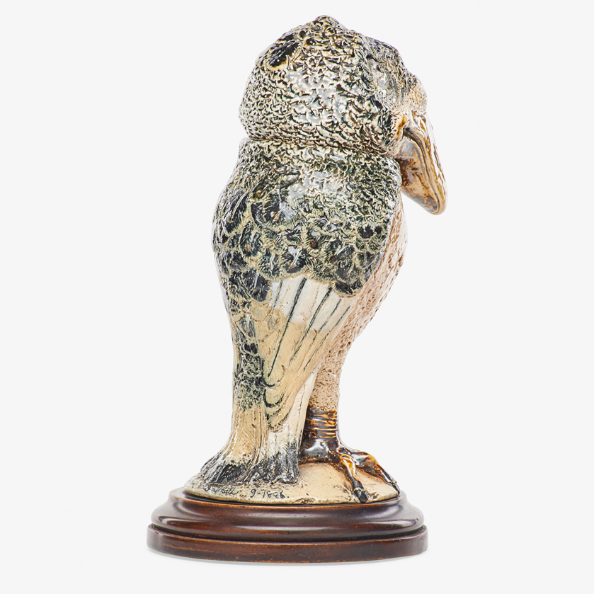 Lot 15 - ROBERT W. MARTIN; MARTIN BROTHERS TALL BIRD TOBACCO JAR