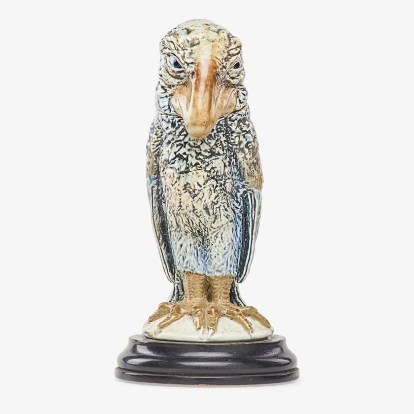 Lot 25 - ROBERT W. MARTIN; MARTIN BROTHERS SMALL BIRD TOBACCO JAR