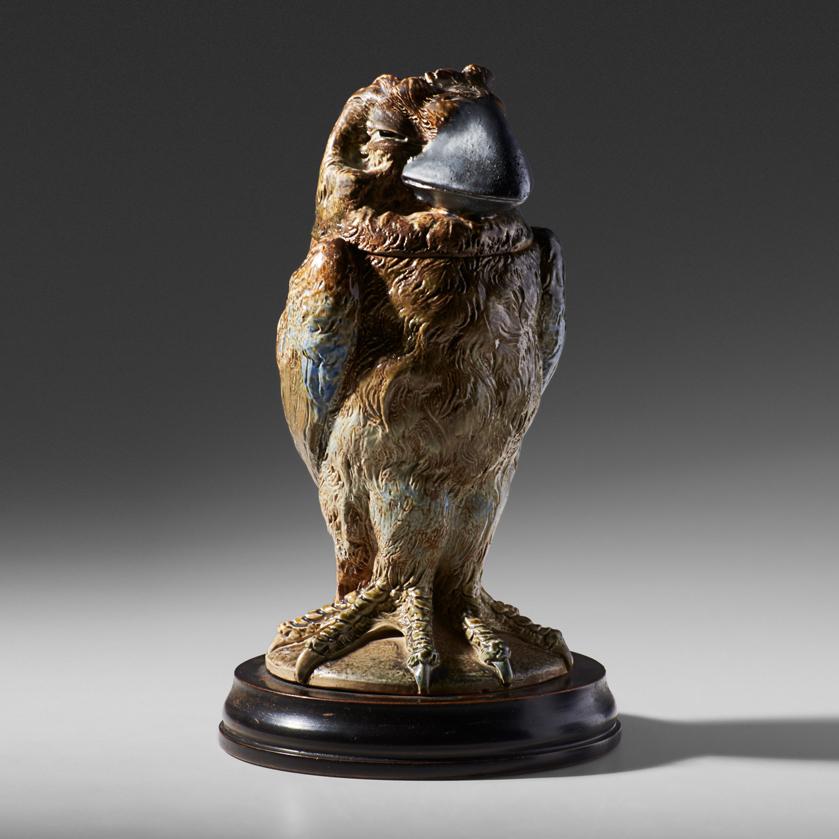 Lot 10 - ROBERT W. MARTIN; MARTIN BROTHERS BIRD TOBACCO JAR